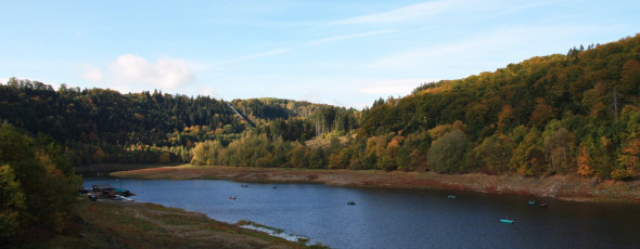 Indian Summer im Harz – Tour 1 Rappbodetalsperre und Wendfurth