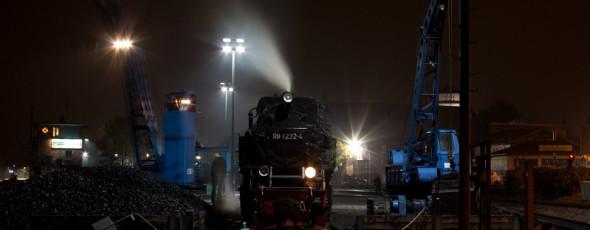 Harzer Schmalspurbahn – HSB bei Nacht